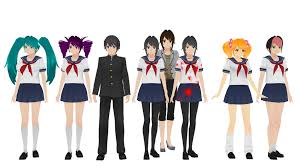 Mmd Meme Download - some of the current game models for mmd yandere simulator know