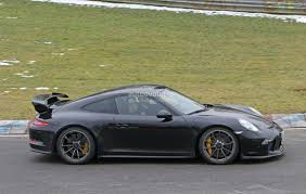 Porsche Panamera Manual - 2018 porsche 911 gt3 spied testing at the nurburgring expect a