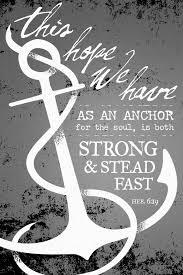 Love Anchors The Soul Hebrews - the living jesuslivingwater hebrews 6 19 nkjv this