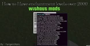 Minecraft Wiki Enchanting Table How To Get Enchantments Level Over 2000 Minecraft Blog