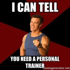 Personal Trainer Meme - 10 things you should know joining a gym in hong kong