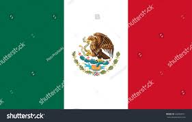 Picture Of Mexican Flag Mexican Flag Stock Vector 265469411 Shutterstock