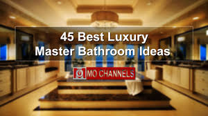 Best Master Bathroom Designs by 45 Best Luxury Master Bathroom Ideas Youtube