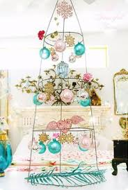 89 spiral metal ornament display tree decor in