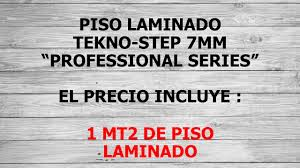 Tekno Step Laminate Flooring Piso Laminado Tekno Step Professional Series 7mm Oferta 155 00