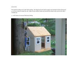shed playhouse plans jenny steffens hobick we built a playhouse diy workbook u0026 photos