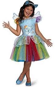 My Little Pony Halloween Costume Amazon Com Disguise Hasbro U0027s My Little Pony Rainbow Dash Tutu