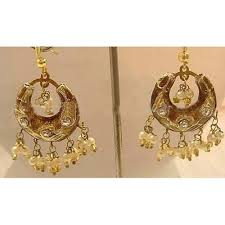 arabian earrings 21 best indian wedding earrings bridal set images on