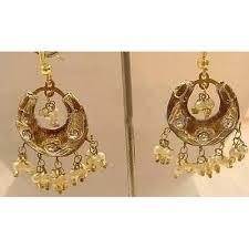 arabian earrings 21 best indian wedding earrings bridal set images on