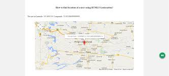 Google Map Marker How To Use Html5 Geolocation Api A Detailed Tutorial Spice