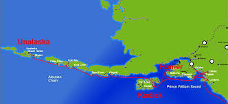 map of aleutian islands the aleutian islands harbor alaska viking travel inc á