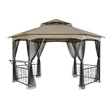 10 X 12 Gazebo Lowes by Tips Bring Life Back To Your Gazebo With Replacement Gazebo