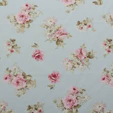 Curtain Upholstery Fabrics Vintage Chintz Shabby Roses Print Retro 100 Cotton Curtain
