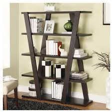 contemporary book cases alluring white bookshelves design with