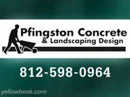 Landscaping Evansville In by Pfingston Concrete U0026 Landscaping Design Evansville In Youtube