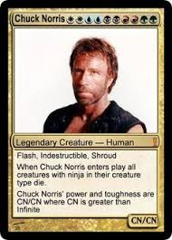 Magic Card Meme - chuck norris chuck norris mtg and magic cards