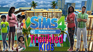 the foster kids the sims 4 parenthood game pack let u0027s play