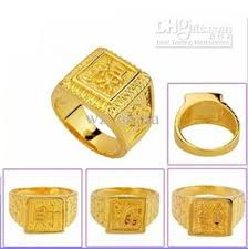 popular cheap gold rings for men buy cheap factory price signet mens engagement gold rings 18k 24k different