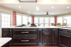 espresso kitchen cabinets with white countertops classic traditional white espresso kitchen the kitchen shop