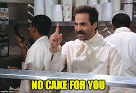 No Cake Meme - the cake is a lie imgflip