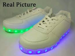 Kids Light Up Shoes Size 30 45 Big Kids Light Up Shoes For Children Usb Shoes With