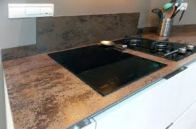 plan de travail cuisine ceramique plan de travail en cacramique marbre et decoration racalisation de