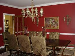 classy decor with red walls for elegant dining room idea red classy decor with red walls for elegant dining room idea