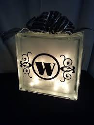 81 best glass block decorations images on Pinterest
