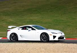 lexus sport car lfa lexus lfa hits the market