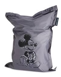 siege poire avis geant pouf siège poire mickey mouse gris 100 x 135 cm