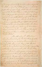 abraham lincoln thanksgiving proclamation text emancipation proclamation