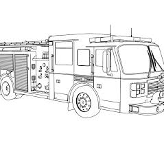 printable coloring pages trucks printable colouring pages fire