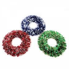 christmas tinsel christmas tinsel wreaths