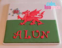 Flag Cakes Cake By Lisa Price Welsh Flag Cake