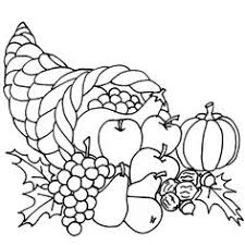 thanksgiving outline clipart 44