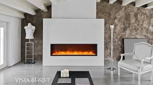 Outdoor Electric Fireplace Sierra Flame Vista Bi 60 7 Electric Fireplace