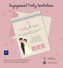 engagement housewarming party invitations free printable