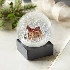 sundance home decor horse snow globe robert redford u0027s sundance catalog