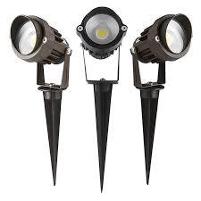 Landscape Spot Light 5 Watt Landscape Led Spotlight W Mounting Spike 250 Lumens