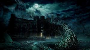 scariest halloween houses spooky wallpapers group 81