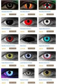 contacts for cosplay or halloween endeavors bam and wham