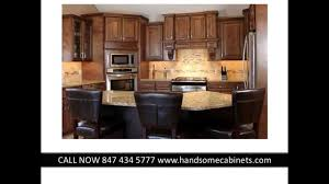 J K Kitchen Cabinets J U0026k Rta Cabinets Chicago Chocolate Maple Glaze By Handsome Youtube
