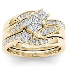 gold bridal set yellow bridal sets wedding ring sets for less overstock