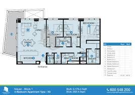 5 bedroom apartment floor plans bedroom apartment bua sqft type mayan yas island abu dhabi floor