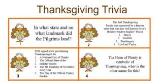 printable trivia for thanksgiving happy thanksgiving