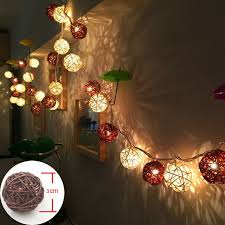White Rattan Christmas Decorations by Popular Battery Operated Christmas Tree Lights Buy Cheap Battery