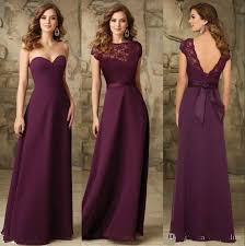 bridesmaid gowns chiffon bridesmaids dresses backless cheap bridesmaid gowns 2