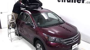 honda crv cargo box review of the thule pulse alpine rooftop cargo box on a 2013 honda