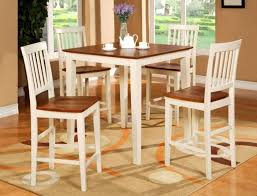 Birch Kitchen Table by Kitchen Table Square Counter Height Set Metal Butterfly Leaf 6
