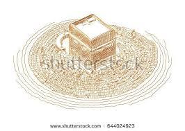 watercolor sketch mecca vector stock vector 677573989 shutterstock